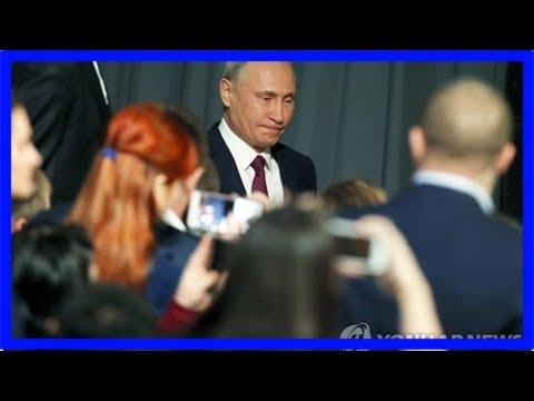 Russia putin annual news conference