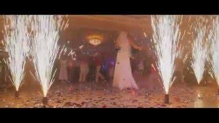 Холодные фонтаны на Свадьбу (первый танец)