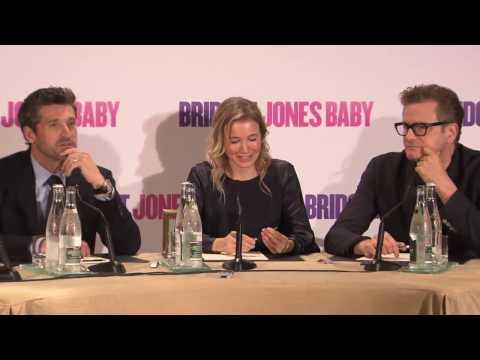 BRIDGET JONES BABY - Press Conference in Paris 1/2