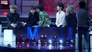 Download BTS Reaction to SEVENTEEN Performance 2020 GDA 4k
