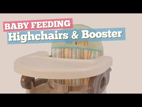 Highchairs & Booster Seats Best Sellers Collection // Baby Feeding