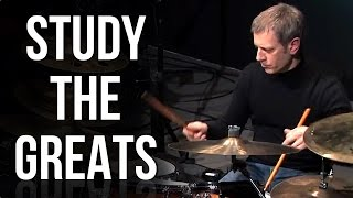 Dave Weckl Triplet Ride Sweeps | STUDY THE GREATS