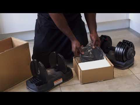 32.5kg Adjustable Dumbbell Unboxing - MuscleSquad