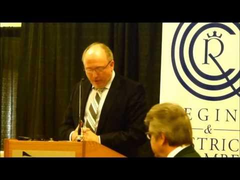 Regina Chamber - Sasktel CEO Ron Styles