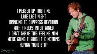 Скачать I M A Mess Ed Sheeran Lyrics
