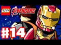 LEGO Marvel's Avengers - Gameplay Walkthrough Part 14 - Ready A.I.M. Fire! (PC)