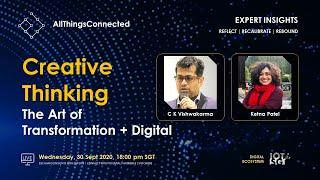 Creative Thinking: The Art of Transformation + Digital