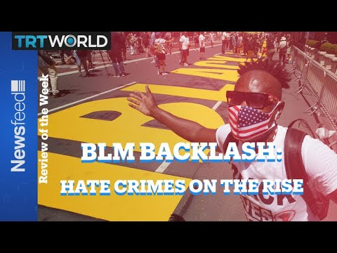 A rise in hate crimes reported. Is it the evidence of the inevitable backlash from BLM uprising?