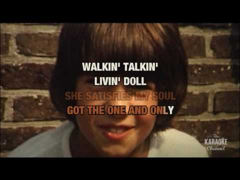 Living Doll in the style of Cliff Richard | Karaoke with Lyrics