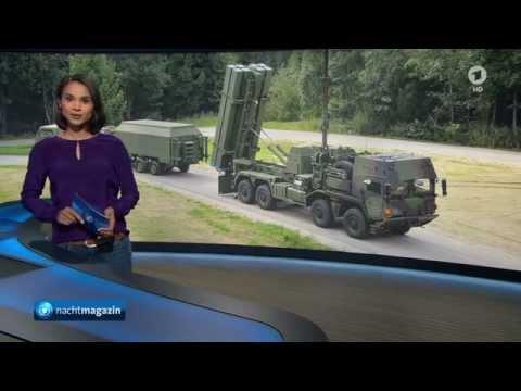 Milliardenprojekt MEADS Luftabwehrsystem soll künftig Patriot ersetzen - MDBA Schrobenhausen - ARD