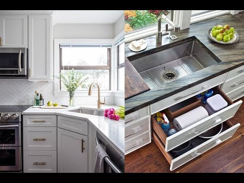 Choose Top 20+ Modern Kitchen Sink Design Ideas! Latest Kitchen Sink Design Ideas 2019
