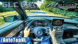 2019 Mercedes AMG GLC 63 S Edition1 POV Test Drive by AutoTopNL
