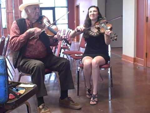 Champion Cajun fiddler