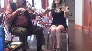 Champion Cajun fiddler Hadley Castille