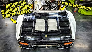 Ferrari Purists Will CRY When They See What I Did To My F355 (WORTH IT!)