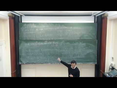 Guoliang Yu: Dimension, complexity and K theory