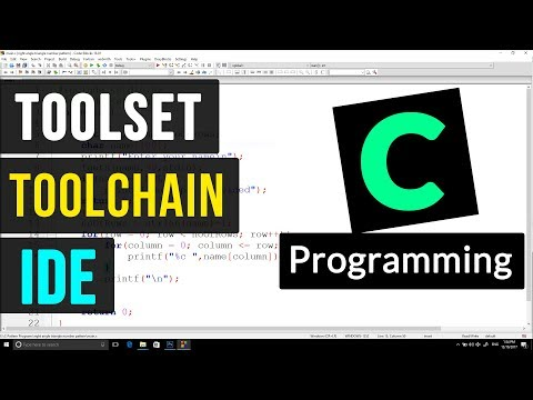 Tool set, Tool chain and IDE | C Programming Video Tutorial