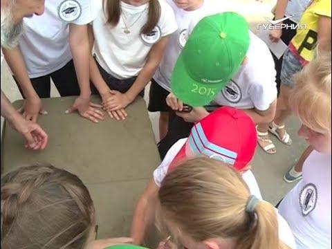 """В летнем лагере дневного пребывания школьникам предложили принять участие в """"Зарнице"""""""