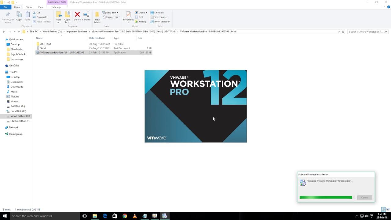 Vmware workstation pro 12 5 keys | VMware Workstation 15 0 4