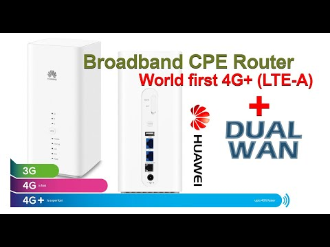 Huawei B618s-65D Broadband CPE Router: A Closer Look!