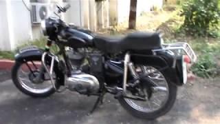 Old Royal Enfield Bullet Motorbike 1966 model owner Dr S P