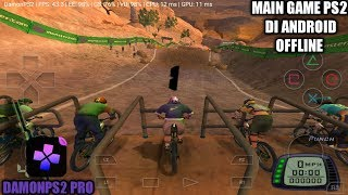 Cara Download Dan Install Game Downhill Domination PS2 Di Android | DamonPS2 Pro Emulator