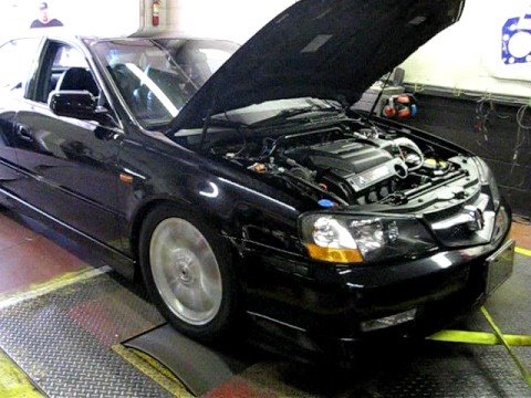 2003 TL-S A-Spec Dyno - YouTube