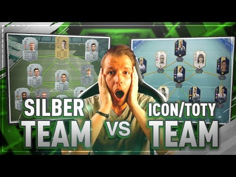 FIFA 19: Silber Team vs Full ICONS-TOTY | konnte David den Goliath besiegen? 💪🔥