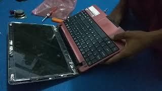 Cara Bongkar Pasang LCD Netbook Acer Aspire One 722