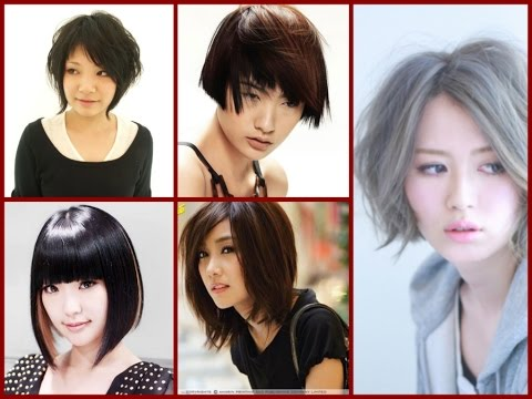 25 Best Asian Girls Hairstyle Bob Haircuts For Asian Women Youtube