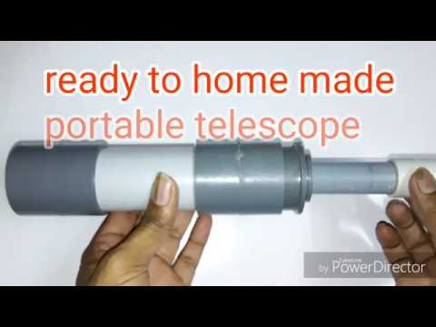 how to make a refracting telescope