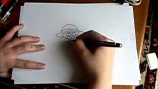Comment dessiner le drapeau des Mugiwara -How to draw Mugiwara