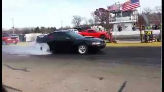 """Procharged """"Just A 2V"""" Mustang GT almost gets a 9-Second pass...."""