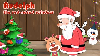 Rudolph the Red-Nosed Reindeer Christmas movies for children - Full movies - Bedtime story