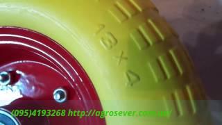 Колесо для тачки 4.00-6/204 пенополиуретановое(, 2016-04-19T21:54:52.000Z)