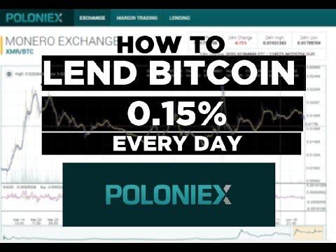 How To Get Crazy Interest Lending Bitcoin