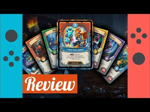 Lightseekers Switch Review - The Digital Card Game