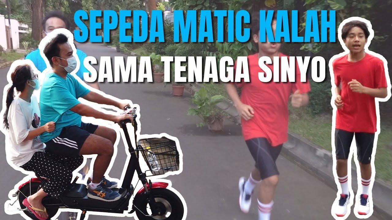 Download The Onsu Family - Sepeda Matic kalah sama Tenaga SINYO