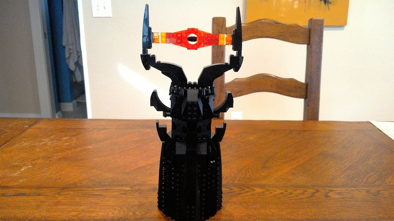 Lego Batman Movie Sauron Moc Youtube