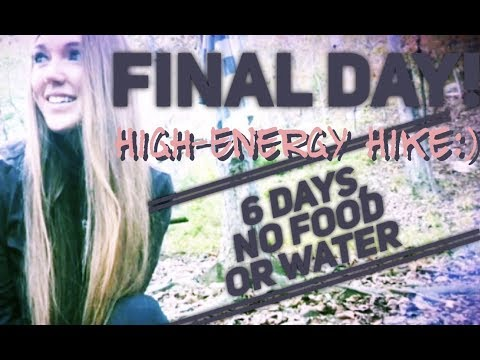 6-day-dry-fast,-hiking-the-final-day---144-hours-no-food-or-water