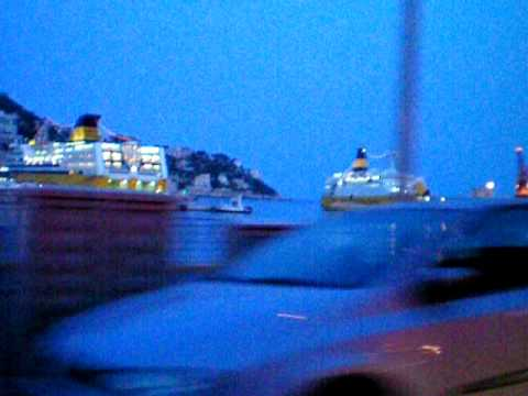 Nice Bay - Yachts and Ferries