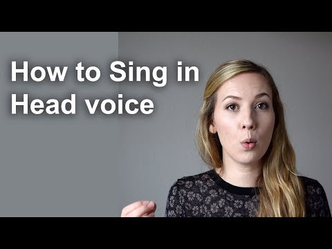 How to Sing In Head Voice