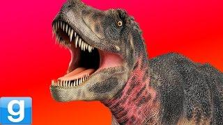 FILMING JURASSIC WORLD!! - Gmod Jurassic Park Dinosaur Mod (Garry