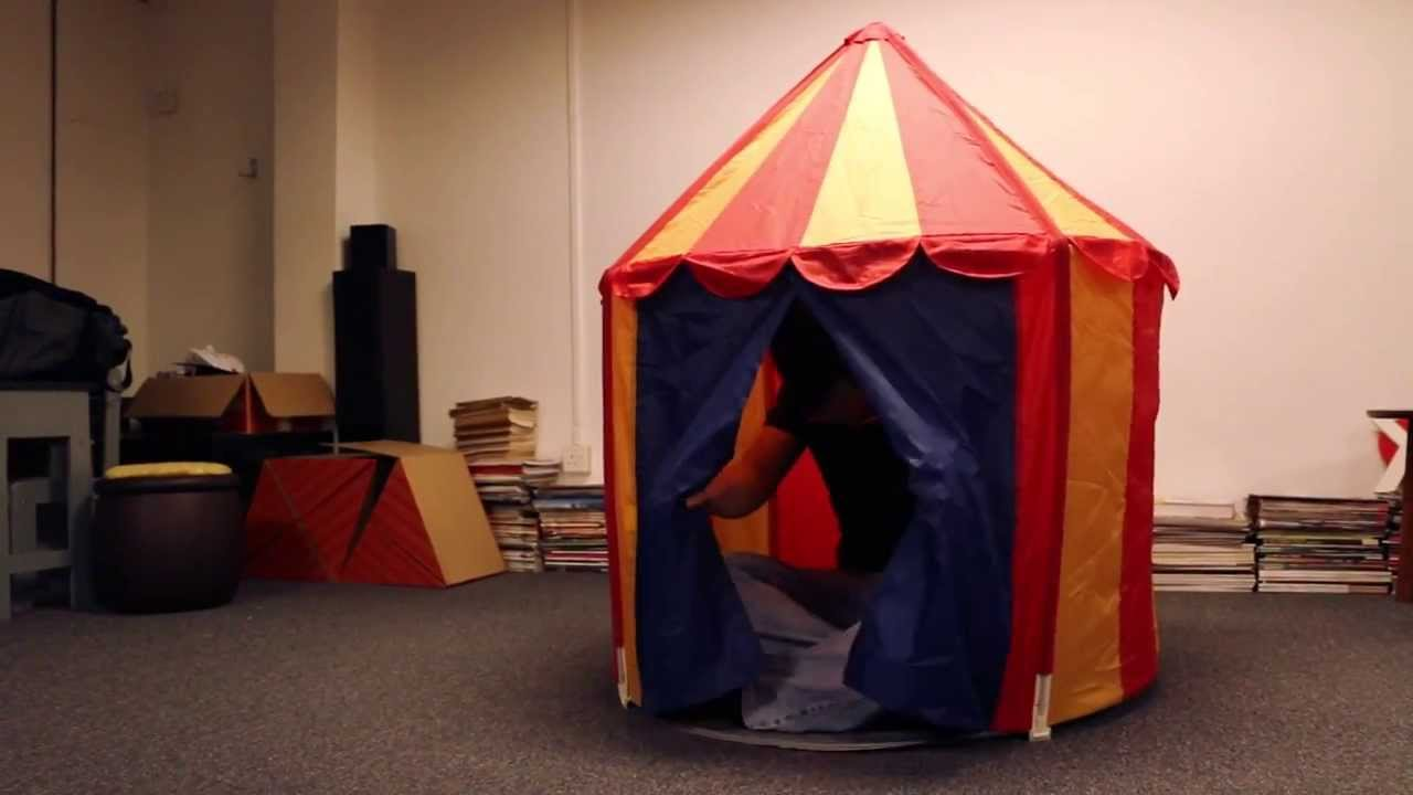 Circus Tent from Ikea and Elroy - YouTube