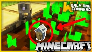 Minecraft NANOSCOPIC HOUSES With Only One Command Block - Smallest Houses Ever Created!