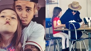 Justin Bieber and Jazmyn Bieber - Sweet Moments