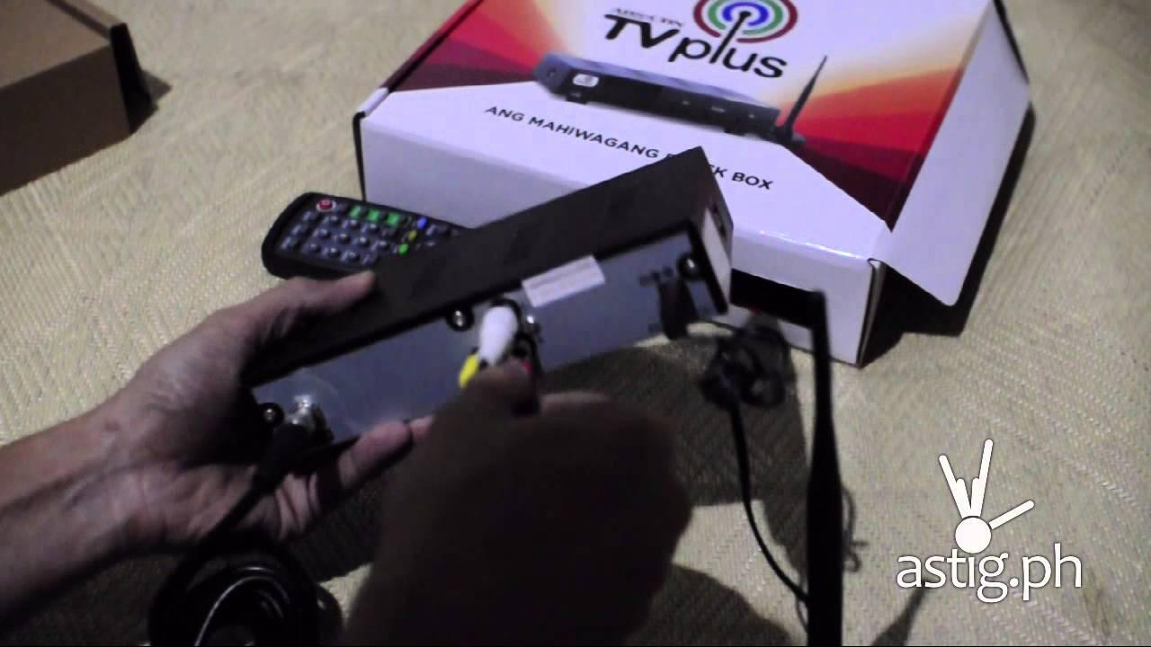 Abs Cbn Tvplus Digibox Mahiwagang Black Box How To Assemble