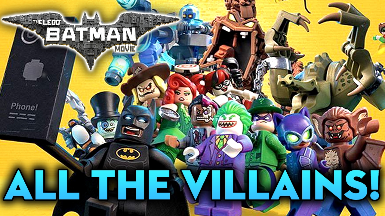 All Lego Batman Villains images