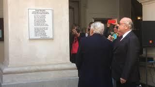 Homenagem ao poeta Paulo Bomfim - Largo São Francisco