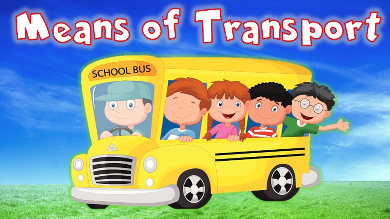 Learn Means Of Transport For Kids